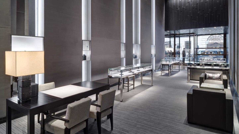 Интерьеры нового часового магазина Hublot от нью-йоркского архитектора Питера Марино