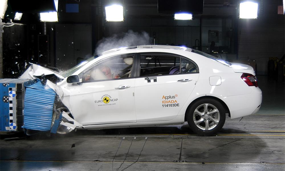 Китайцы научились делать безопасные автомобили. ФОТО. ВИДЕО