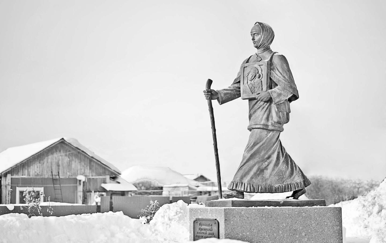Памятник Прасковье Луполовой в Ишиме