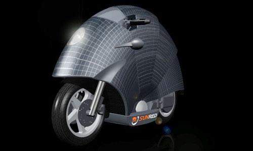 Испанцы изобрели мотоцикл на солнечных батареях