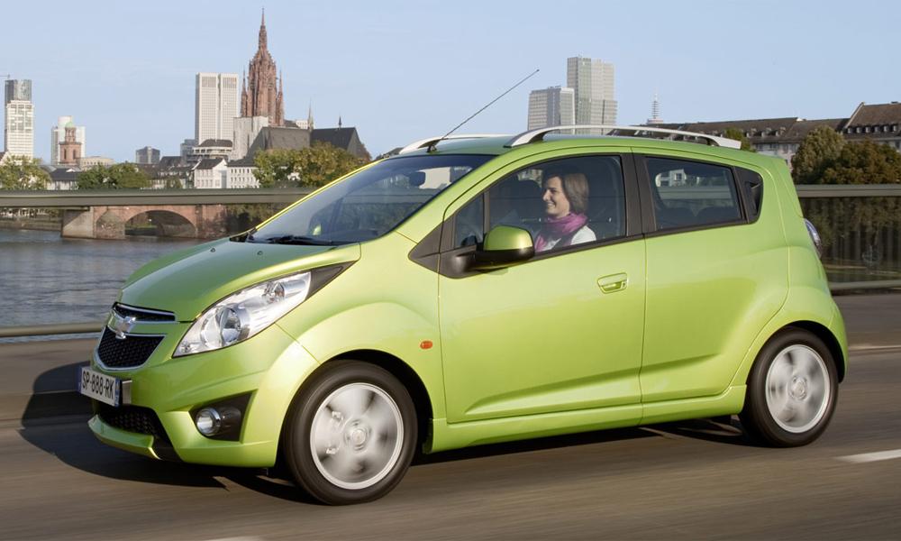 Chevrolet объявляет российские цены на новый Spark