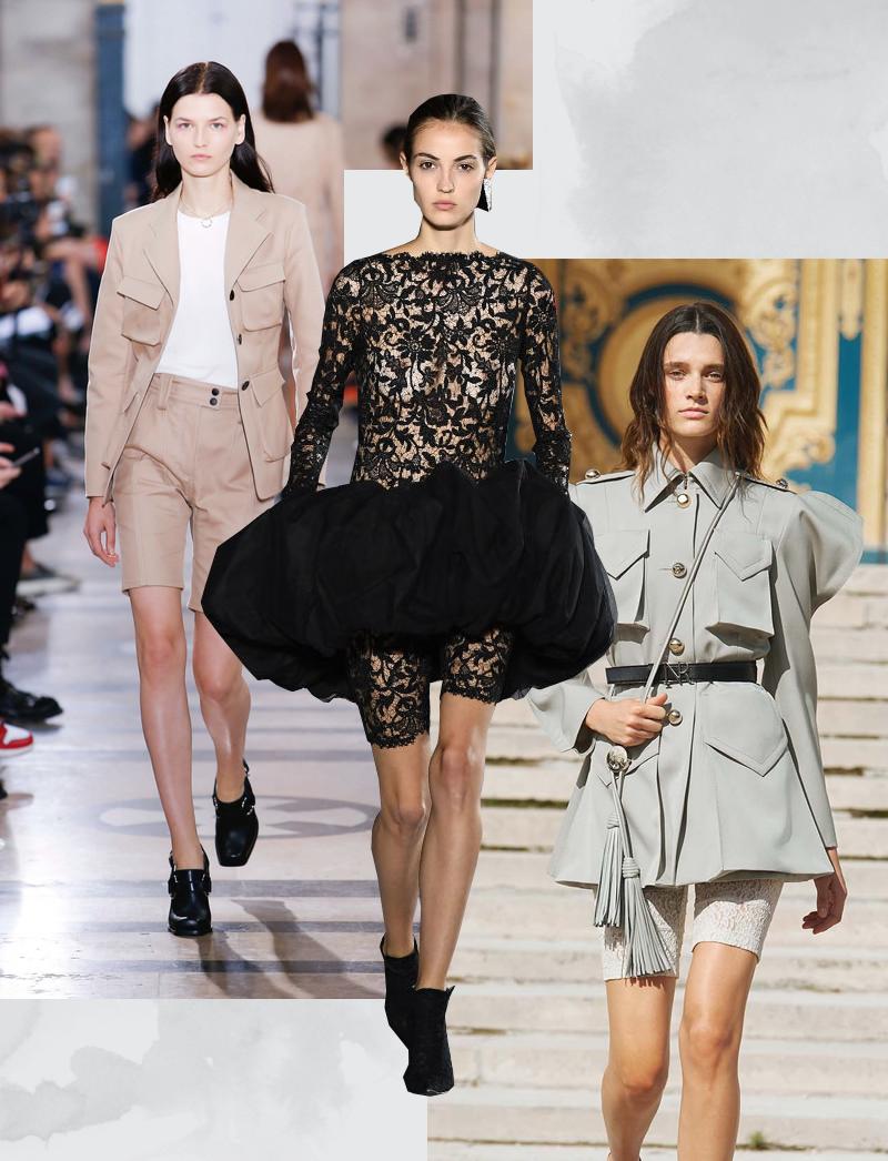 Модели с показовAtlein; Saint Laurent; Nina Ricci