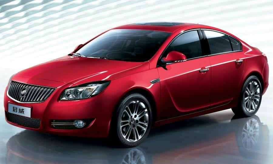 Китайцы получили Opel Insignia под маркой Buick