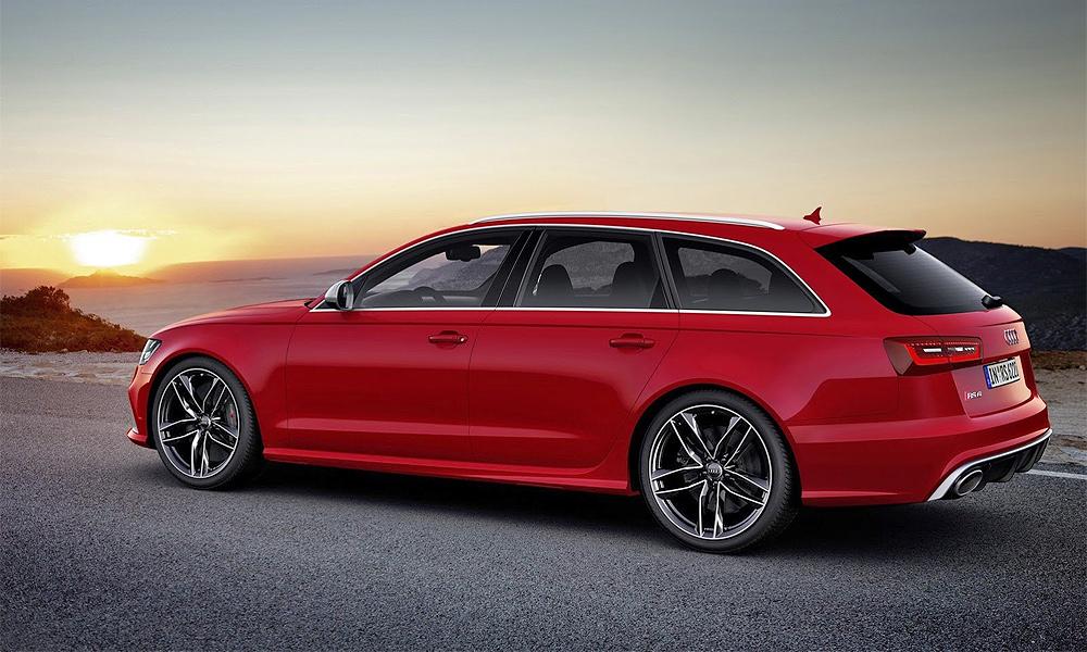 Audi официально показала новый универсал RS6