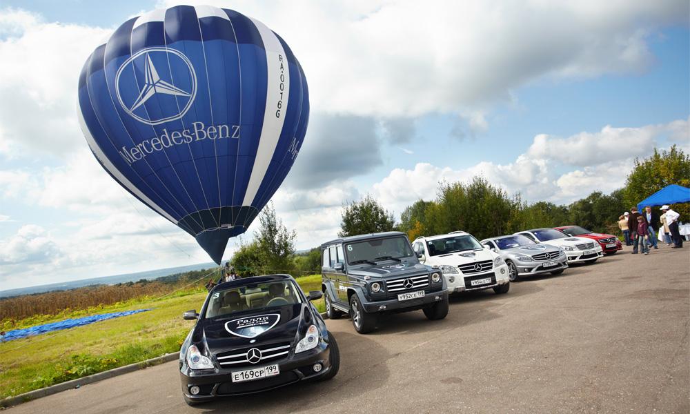 Супер-тест-драйв – все Mercedes-Benz AMG за один день