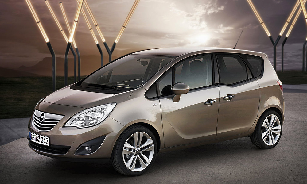 Новая Opel Meriva получила награду за дизайн