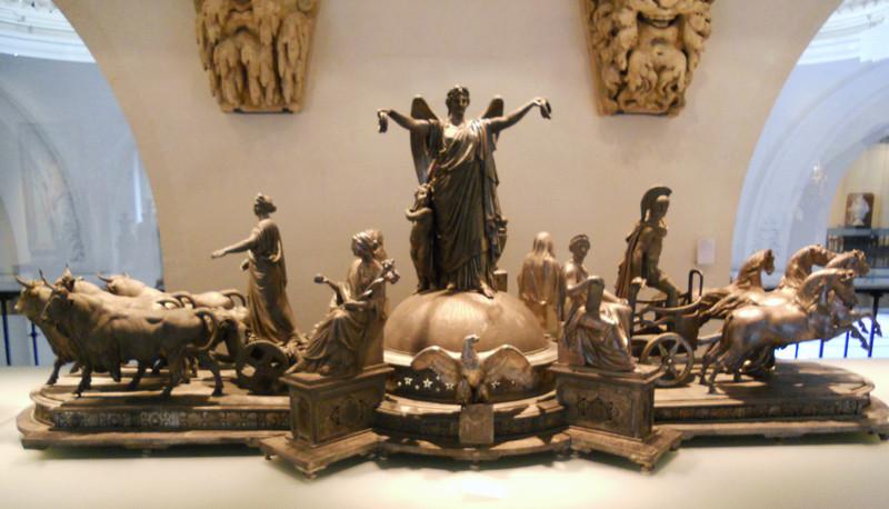 Сервиз Наполеона III в парижском музее Art Deco