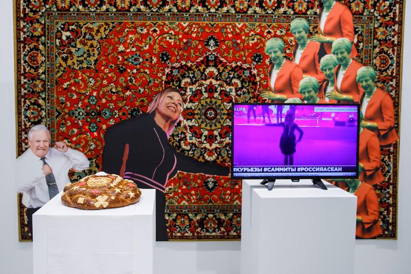 «Танцуют все!», инсталляция Романа Мокрова