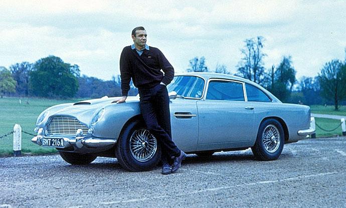 Aston Martin Джеймса Бонда