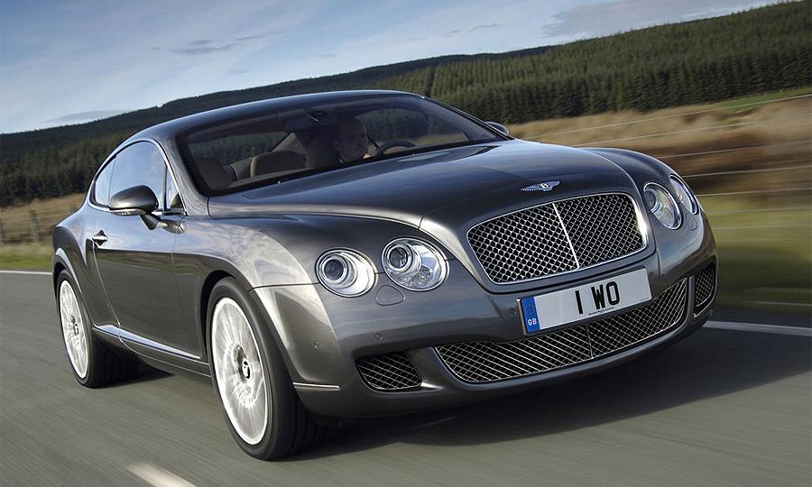В Подмосковье снова угнали Bentley Continental