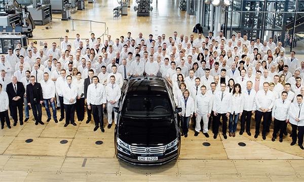 Volkswagen Phaeton сняли с производства