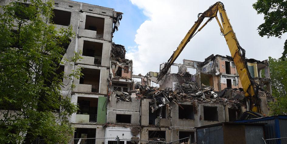 Снос пятиэтажек в Москве  Комплекс градостроительной