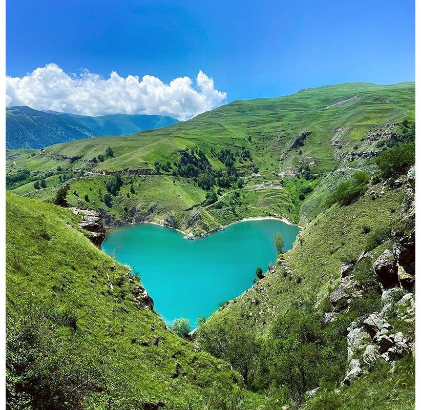 Озеро Гижгит,Кабардино-Балкарская Республика