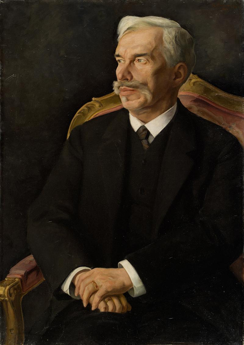 Дмитрий Мельников. Портрет Сергея Ивановича Щукина, 1915