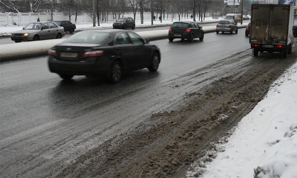 Дорожные реагенты отравят москвичей весной
