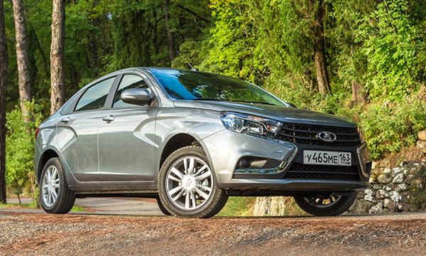 Lada Vesta получила новую комплектацию