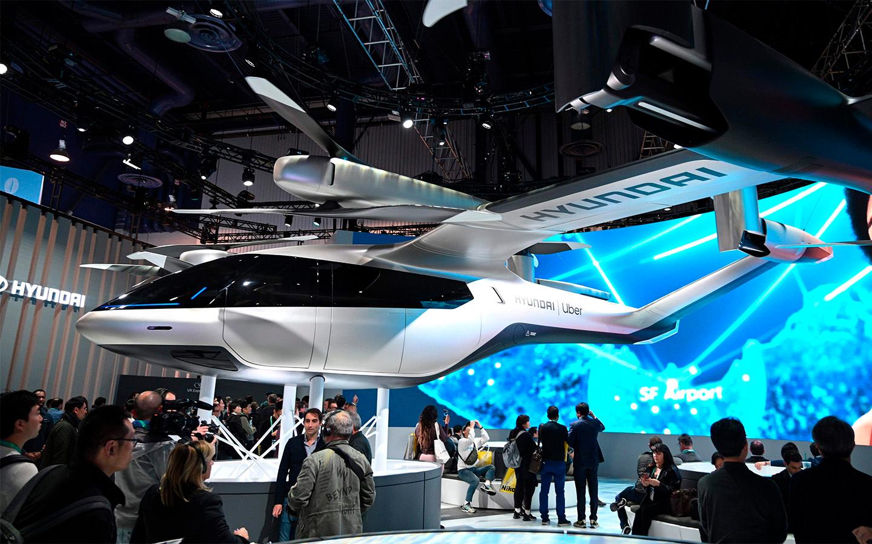 Hyundai планирует выпустить линейку летающих автомобилей к 2028 году