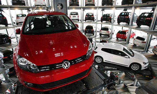 Самые продаваемые автомобили в Европе. Топ-10