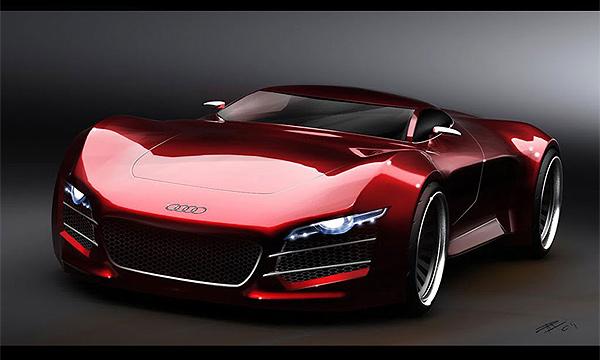 Audi раскрыла подробности о суперкаре R10