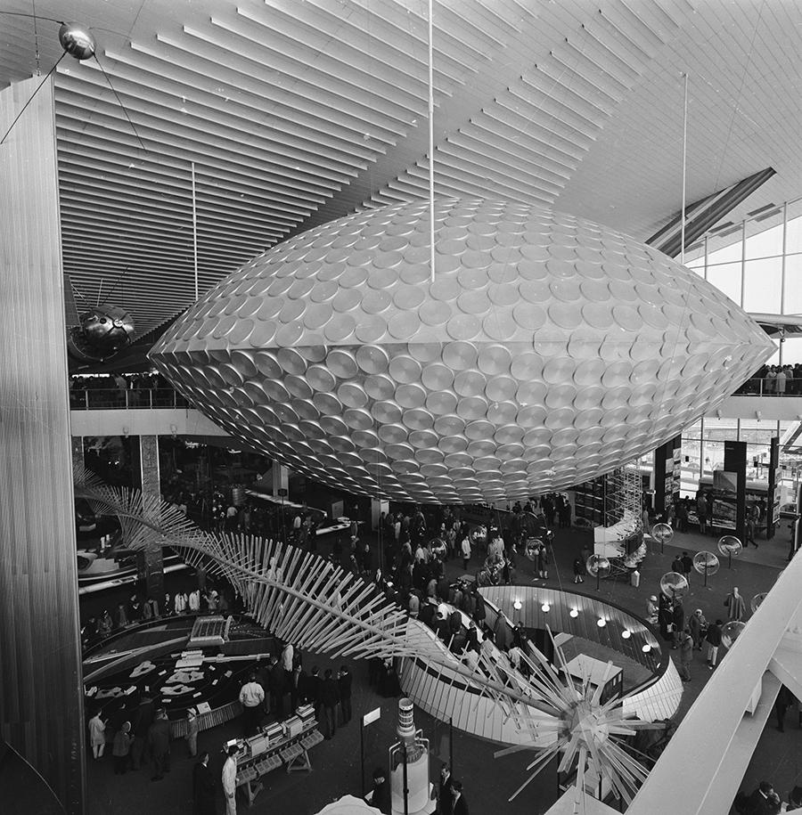 Выставочный стенд СССР на Всемирной выставке «Экспо-67» в Монреале