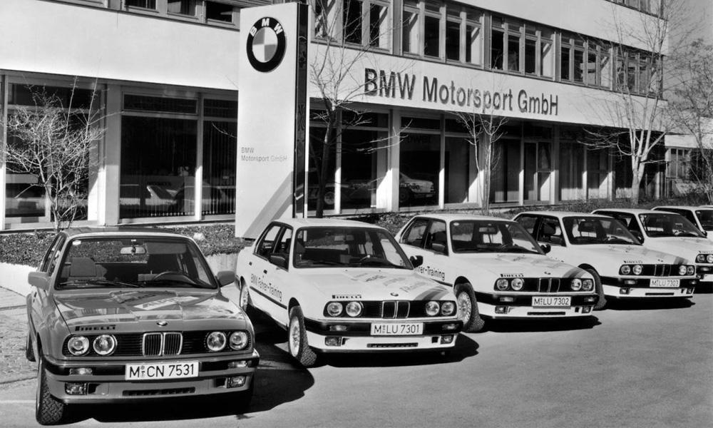 BMW M GmbH отмечает сорокалетний юбилей