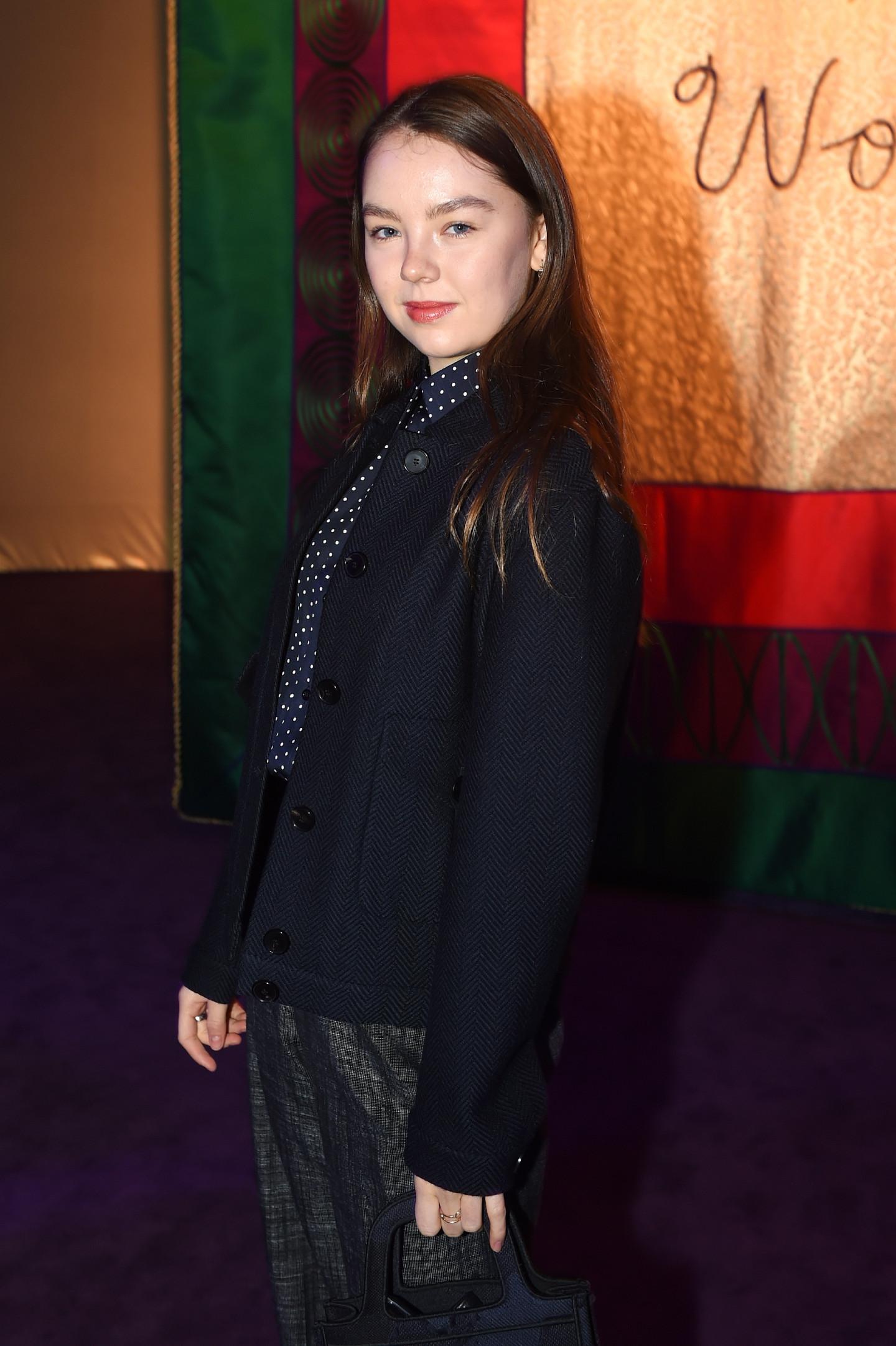Принцесса Александра Ганноверская перед показом Dior сезона весна-лето 2020
