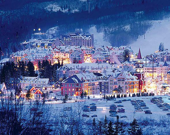 10 самых живописных горнолыжных курортов по всему миру