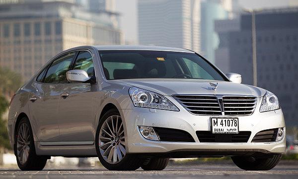 Hyundai обновил флагман Equus