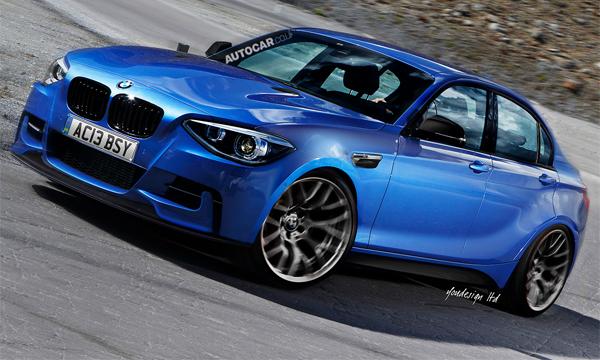 Самый компактный седан BMW появится на рынке в 2017 году