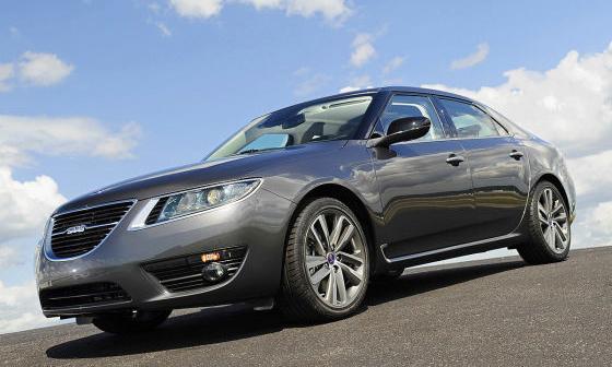 Новый седан Saab 9-5