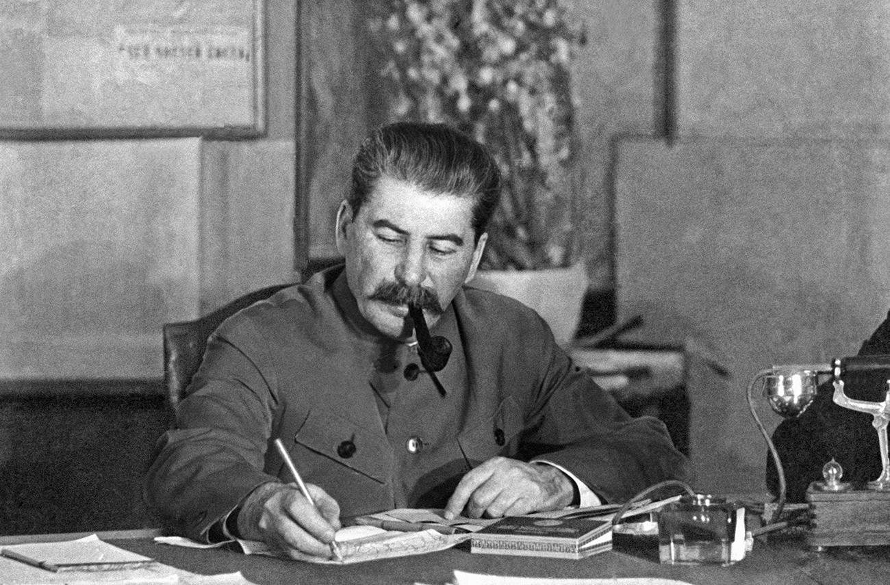 Генеральный секретарь ВКП(б) Иосиф Сталин, 1939
