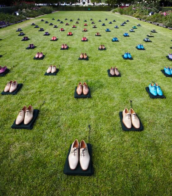Ботинки Alessandro на показе коллекции Berluti сезона весна-лето 2013 в саду Пале-Рояль