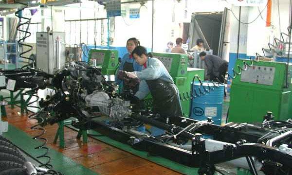 В I полугодии Китай увеличил производство автомобилей