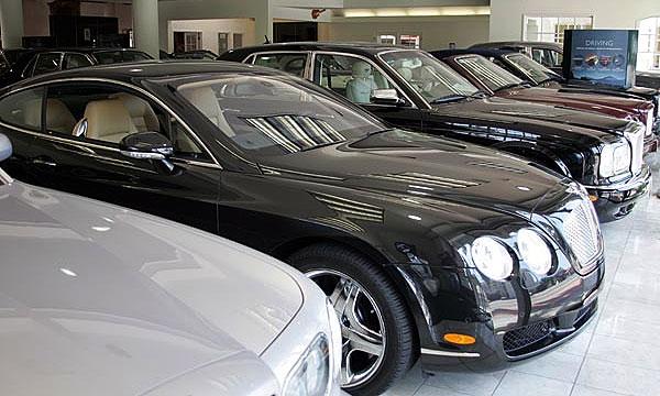 В 2009 году россияне купили 111 Bentley и лишь один Bugatti