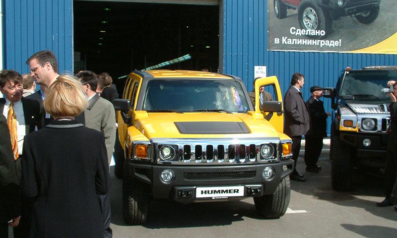 На Автоторе началось производство Hummer H3