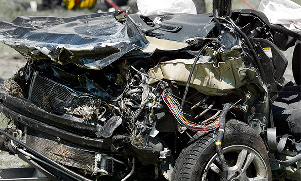 Названа причина крупной аварии на Кутузовском проспекте