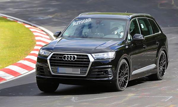 Топовая Audi Q7 получит менее мощный мотор, чем у предшественника