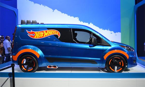 Ford превратил игрушечный фургон в концепт-кар