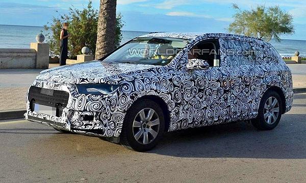 Новый Audi Q7 заметили на тестах