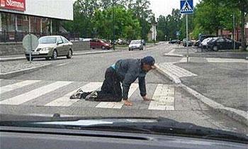 Российские пешеходы усложнят жизнь автомобилистов
