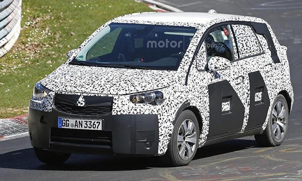 Новое поколение Opel Meriva сделают похожим на кроссовер