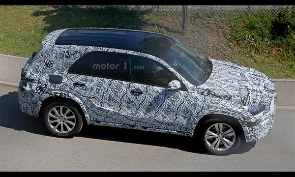 Mercedes-Benz приступил к испытаниям GLE нового поколения