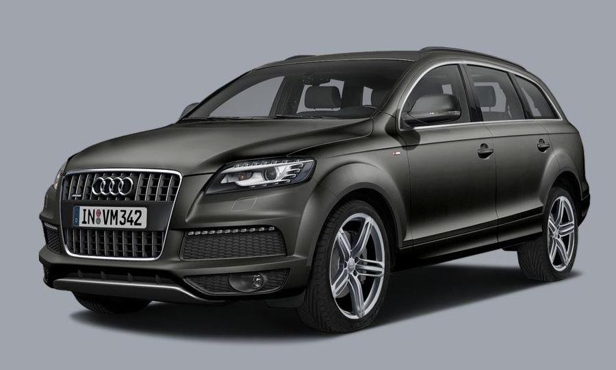 Audi Q7 Black Line