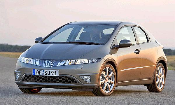 Honda отзывает более 25 000 Civic