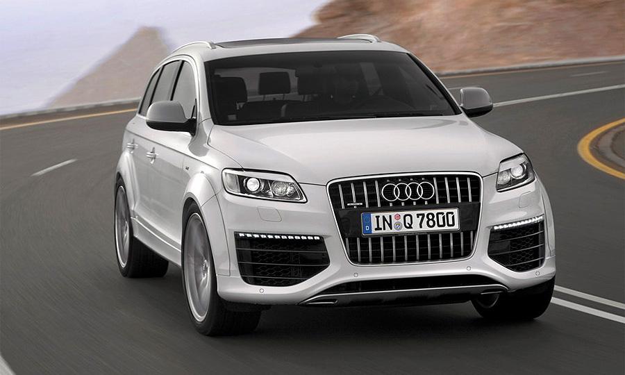 Audi Q7 V12 TDI начнут продавать в России в декабре
