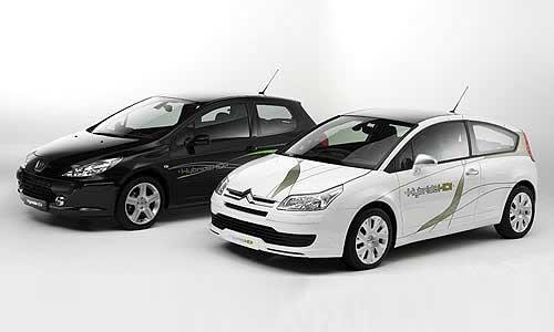 Демонстрационные экземпляры - Peugeot 307 и Citroen C4