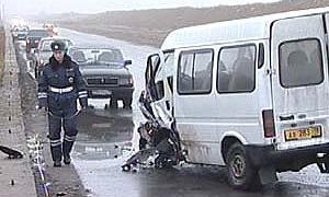 В Ростовской области 5 человек погибли в ДТП