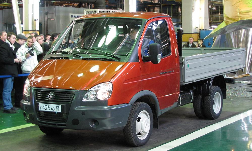 ГАЗ начнет экспортировать «Газели» на европейский рынок
