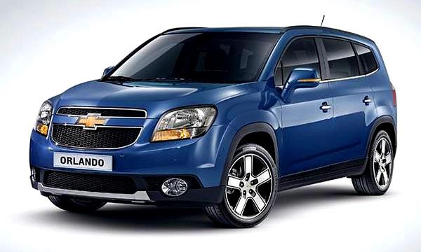 Chevrolet обновил минивэн Orlando