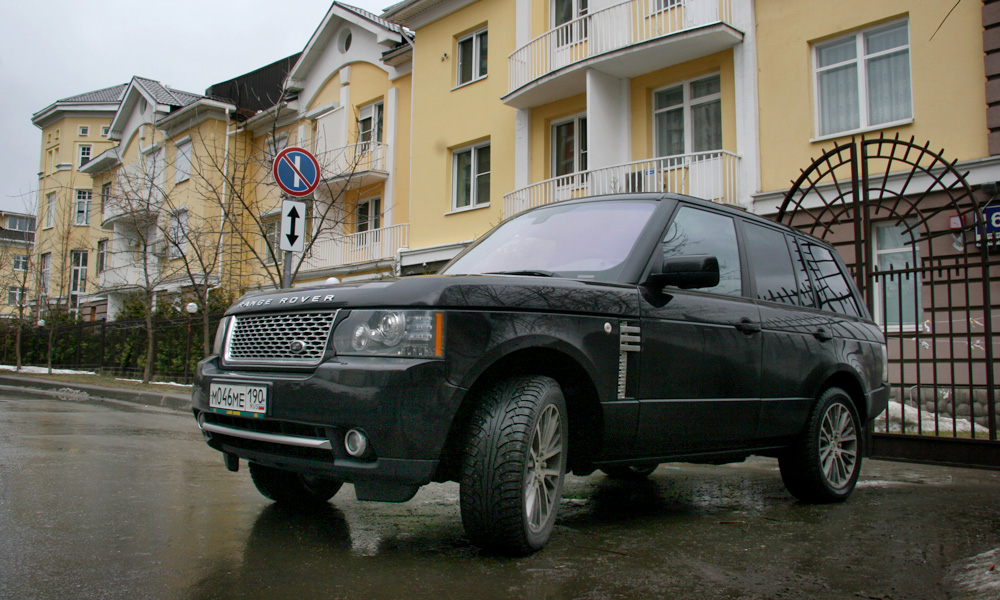 Range Rover Autobiography Black: эксклюзив за 5 миллионов